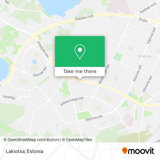 Lakiotsa map