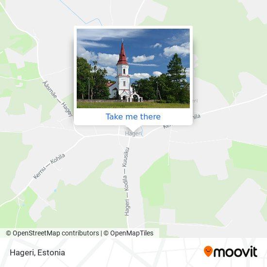 Hageri map