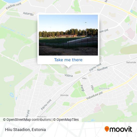 Hiiu Staadion map