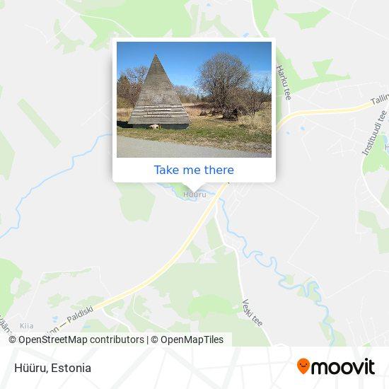 Hüüru map
