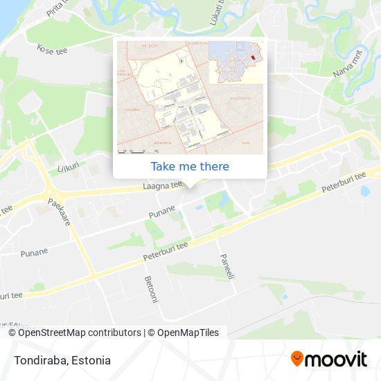 Tondiraba map