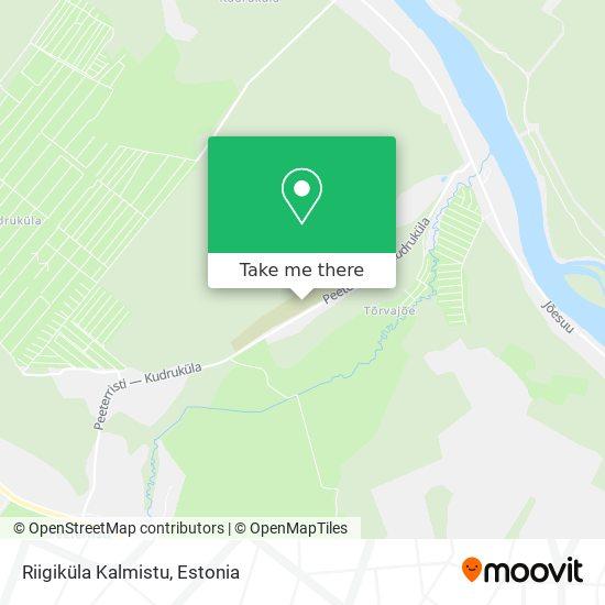 Riigiküla Kalmistu map