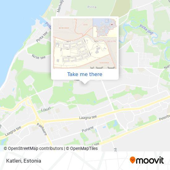 Katleri map