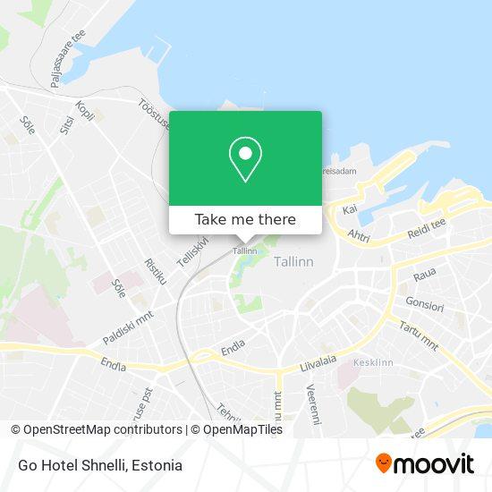 Go Hotel Shnelli map