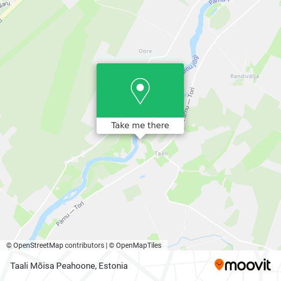 Taali Mõis map