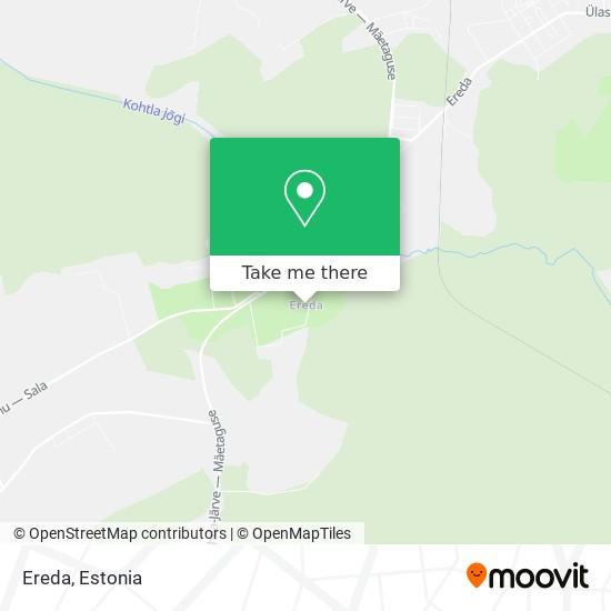 Ereda map