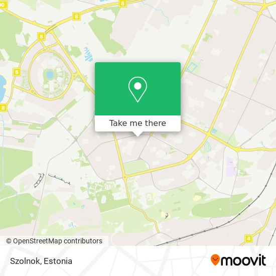 Szolnok map