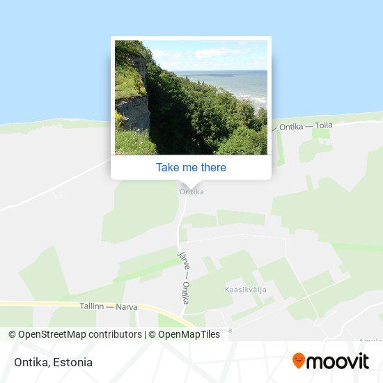 Ontika map