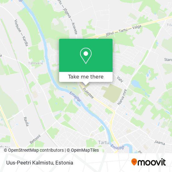 Uus-Peetri Kalmistu map