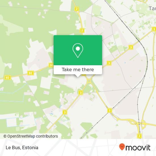 Карта Le Bus