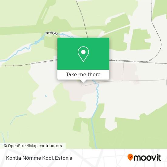 Kohtla map