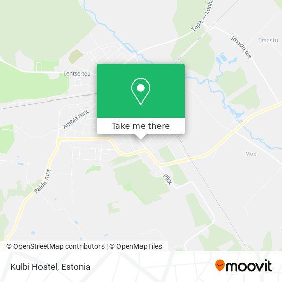 Kulbi Hostel map
