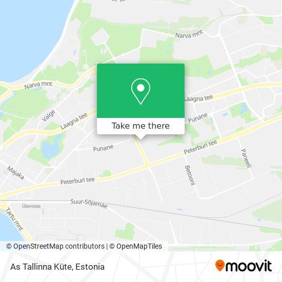 As Tallinna Küte map