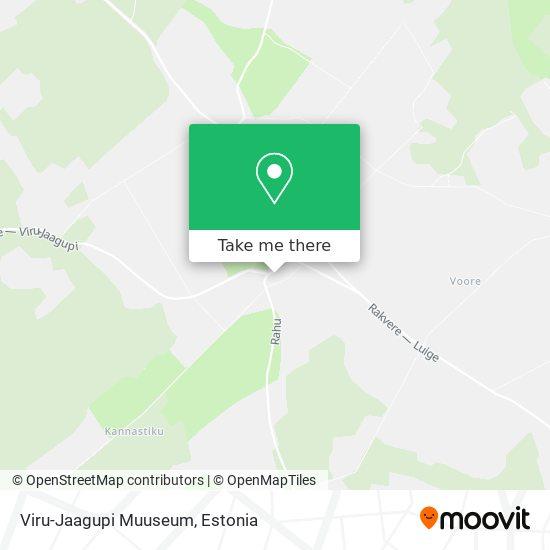Viru-Jaagupi Muuseum map