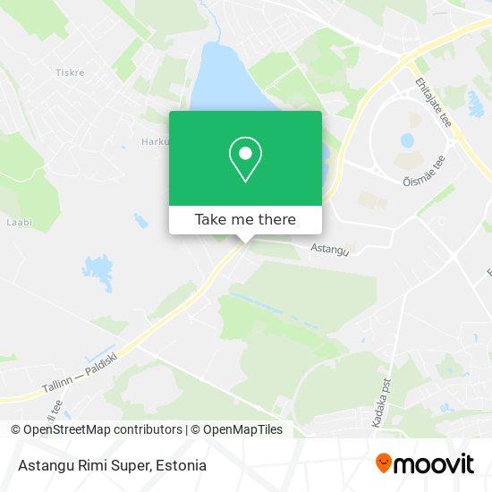 Astangu Mini-Rimi map
