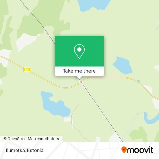 Ilumetsa map