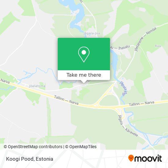 Koogi Pood map