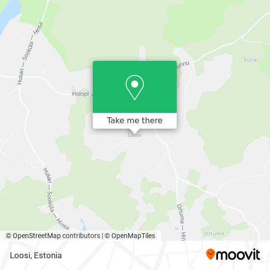 Loosi map