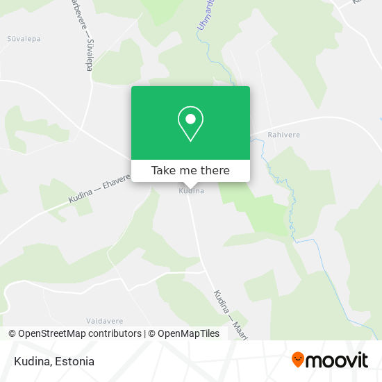 Kudina map