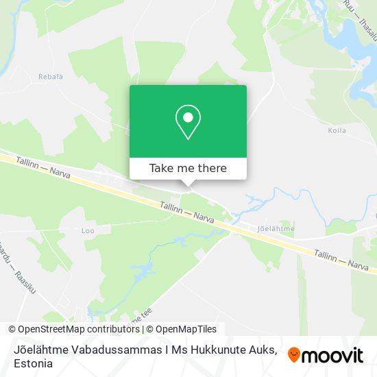 Jõelähtme Vabadussammas I Ms Hukkunute Auks map