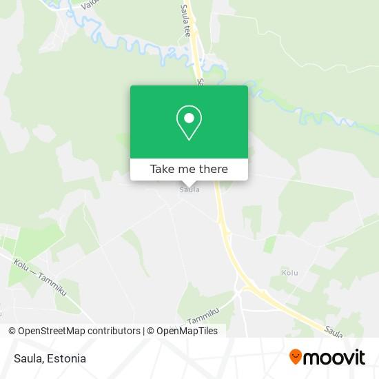 Saula map