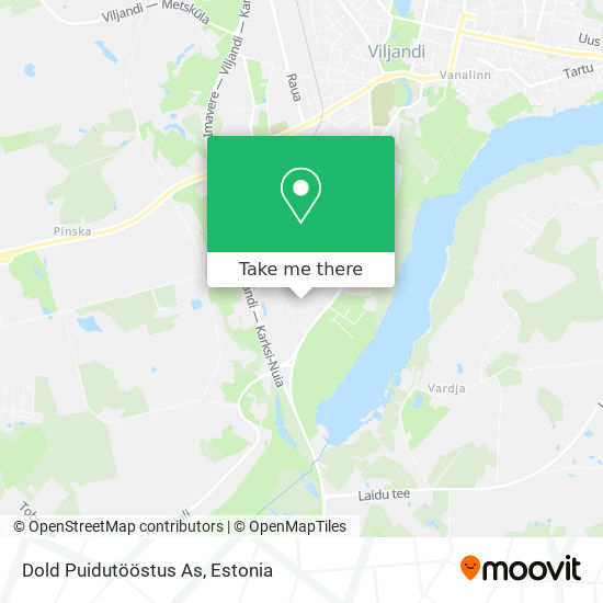 Dold Puidutööstus As map