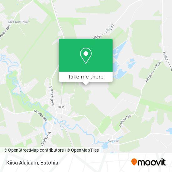 Kiisa Alajaam map