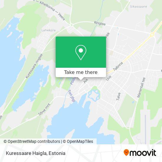 Kuressaare Haigla map