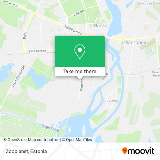 Zooplanet map