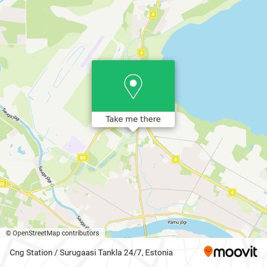 Cng Station / Surugaasi Tankla 24 / 7 map