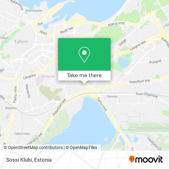 Sossi Klubi map