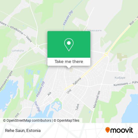 Rehe Saun map