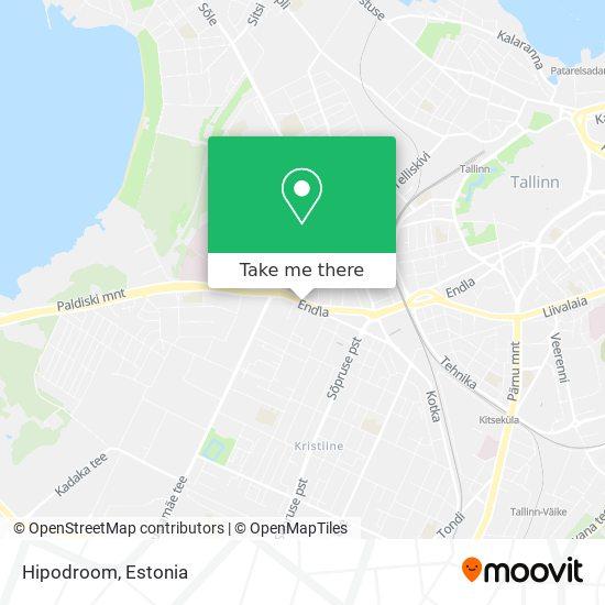 Hipodroom map