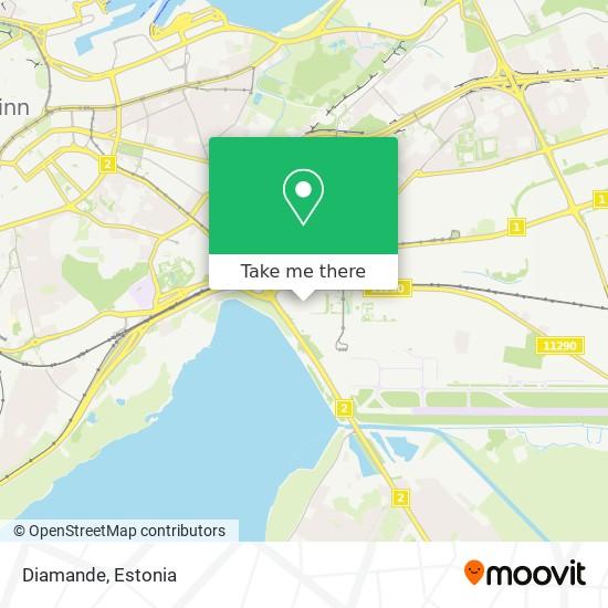 Diamande map