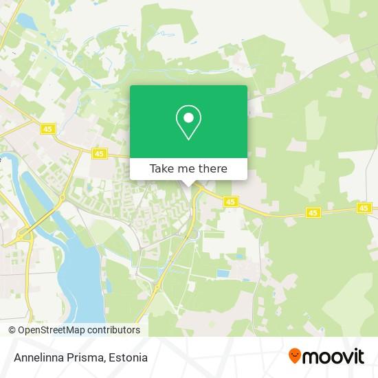 Annelinna Prisma map