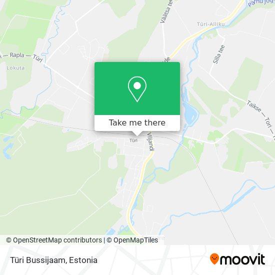Türi Bussijaam map