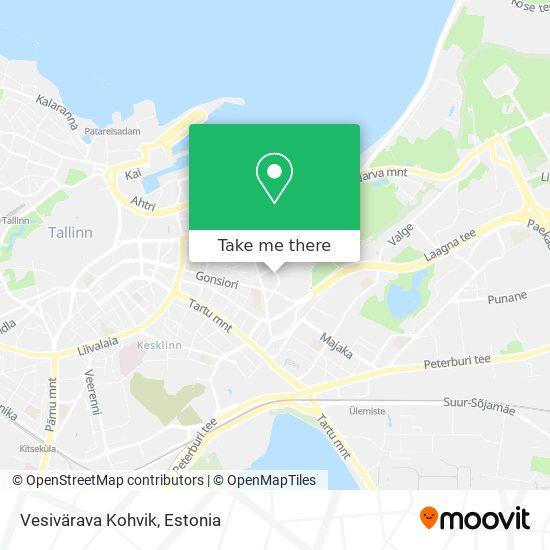 Vesivärava Kohvik map