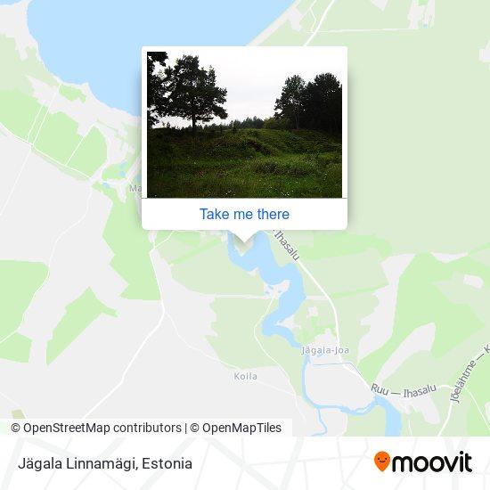 Jägala Linnamägi map