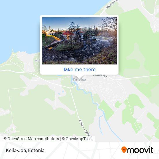 Keila-Joa map