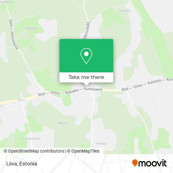 Liiva map