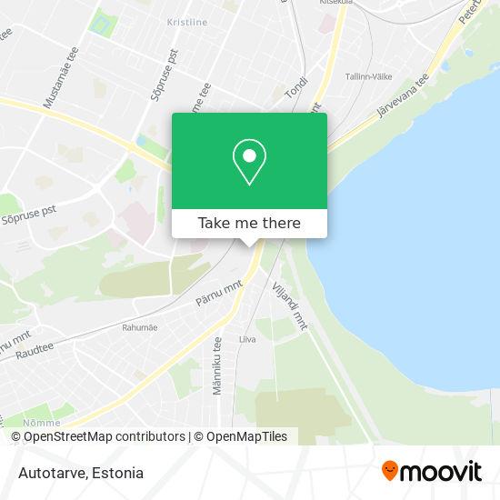 Autotarve map