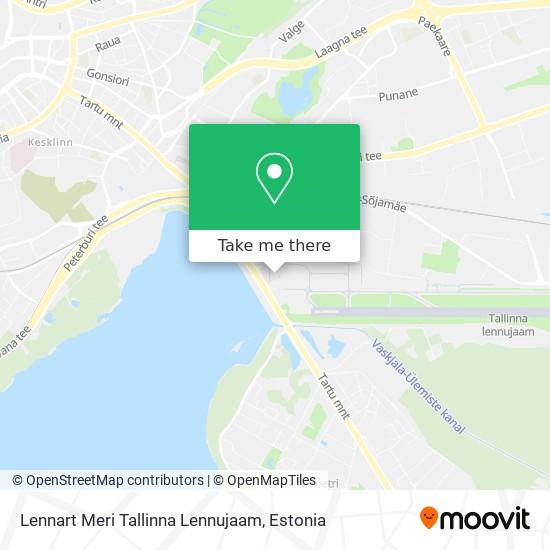 Lennart Meri Tallinna Lennujaam map