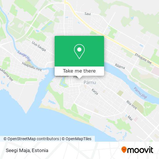 Seegi Maja map