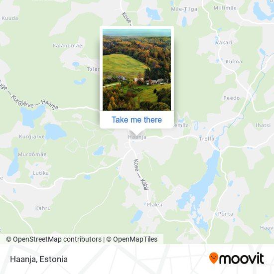Haanja map