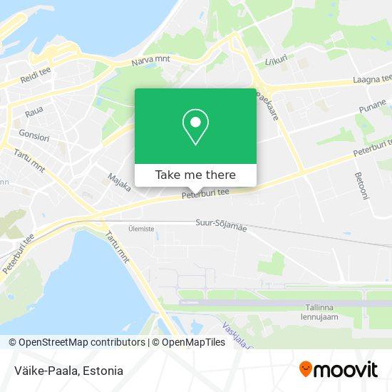 Väike-Paala map