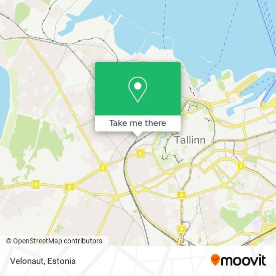 Velonaut map