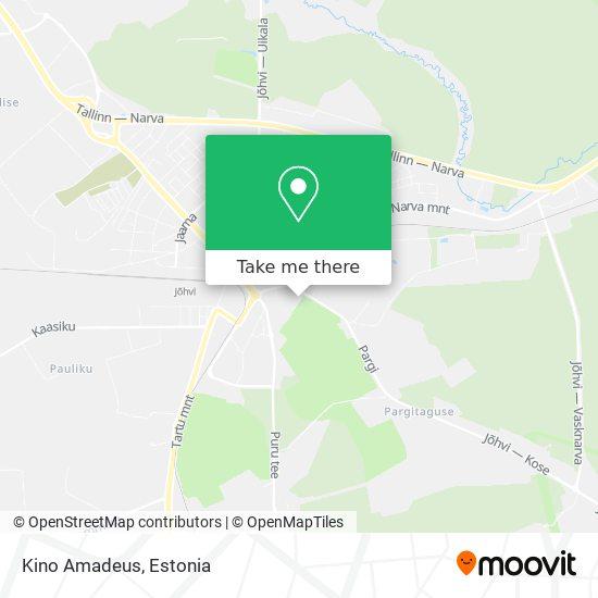 Kino Amadeus map