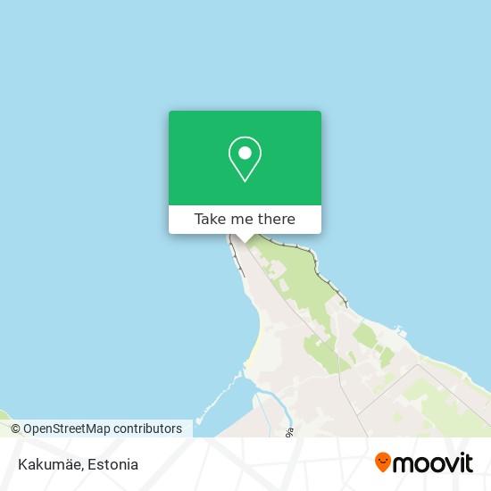 Kakumäe map