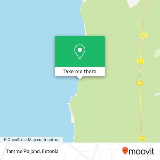 Tamme Paljand map