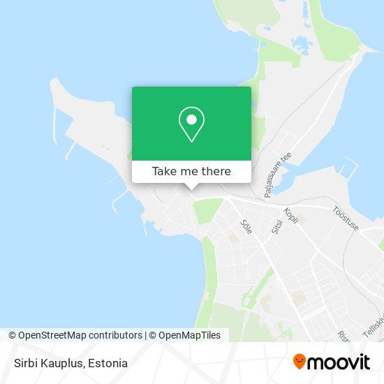 Sirbi Kauplus map